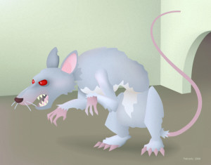 Cartoonish Rodent from 2000.
