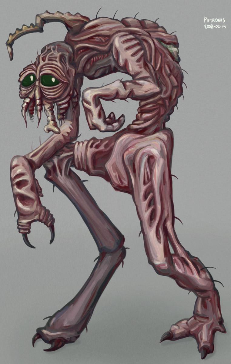Gross Pinkish Mutant