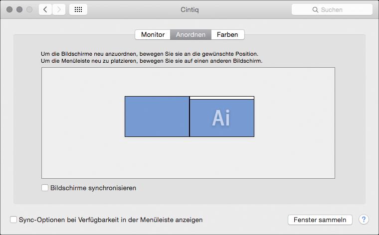 OS X Displays PrefPane